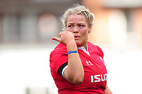 Kelsey Jones of Wales during the Women's Six Nations Championship Round 3 match between Wales and France at the Cardiff Arms Park in Cardiff, Wales, UK. Sunday 23 February 2020