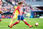 Antoine Griezmann of Atletico de Madrid during La Liga match between Atletico de Madrid and Villareal CF at Wanda Metropolitano in Madrid Spain. February 24, 2018. (ALTERPHOTOS/Borja B.Hojas)