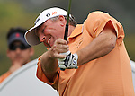 Feb 22, 2009: Mark Calcavecchia on hole 14 at the Northern Trust Open 2009 in the Pacific Palisades, California.