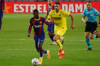 27th September 2020; Camp Nou, Barcelona, Catalonia, Spain; La Liga Football, Barcelona versus Villareal; Ousmane Dembele