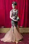 © Licensed to London News Pictures . 16/05/2015 .  The Palace Hotel , Manchester , UK . ANNA PASSEY . The red carpet at the 2015 British Soap Awards , The Palace Hotel , Oxford Road , Manchester . Photo credit : Joel Goodman/LNP