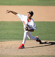 Chris Kissock - Mesa Solar Sox - 2010 Arizona Fall League.Photo by:  Bill Mitchell/Four Seam Images..