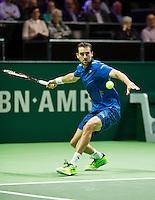 Rotterdam, The Netherlands, Februari 8, 2016,  ABNAMROWTT, Marin Cilic (CRO)<br /> Photo: Tennisimages/Henk Koster