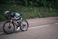 Rüdiger Selig (DEU/BORA-hansgrohe) bombing the descent<br /> <br /> Stage 5: Grenoble > Valmorel (130km)<br /> 70th Critérium du Dauphiné 2018 (2.UWT)