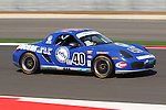 Corey Lewis (40) in action during the Continental Tire Challenge race at the Circuit of the Americas race track in Austin,Texas...