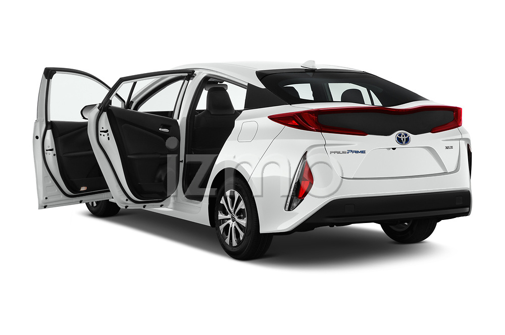 Car images close up view of a 2020 Toyota Prius-Prime XLE 5 Door Hatchback doors
