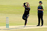 Naomi Dattani of Sunrisers in bowling action during Sunrisers vs South East Stars, Rachael Heyhoe Flint Trophy Cricket at The Cloudfm County Ground on 13th September 2020