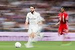 Daniel Carvajal Ramos of Real Madrid in action during their 2016-17 UEFA Champions League Quarter-finals second leg match between Real Madrid and FC Bayern Munich at the Estadio Santiago Bernabeu on 18 April 2017 in Madrid, Spain. Photo by Diego Gonzalez Souto / Power Sport Images