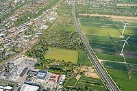 Bergedorf Süd von Brookdeich bis A25: EUROPA, DEUTSCHLAND, HAMBURG 09.05.2020:Bergedorf Süd von Brookdeich bis A25