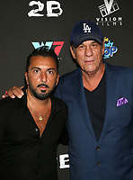 WEST HOLLYWOOD, CA - SEPTEMBER 13: Danny A. Abeckaser, Robert Davi, at the LA Premiere Screening Of I Love Us at Harmony Gold in West Hollywood, California on September 13, 2021. Credit: Faye Sadou/MediaPunch