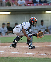 James Skelton of the West Michigan Whitecaps during the Midwest League All-Star game.  Photo by:  Mike Janes/Four Seam Images