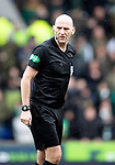 St Johnstone v Celtic…..01.03.20   McDiarmid Park   Scottish Cup Quarter Final<br />Referee Bobby Madden<br />Picture by Graeme Hart.<br />Copyright Perthshire Picture Agency<br />Tel: 01738 623350  Mobile: 07990 594431