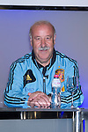 01.06.2012. Telecinco presents its official schedule for the transmission of Eurocup 2012 to the Ciudad del Futbol of Las Rozas, Madrid. In the image Vicente del Bosque  (Alterphotos/Marta Gonzalez)