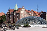 Bahnhof Triangeln, Malmö, Provinz Skåne (Schonen), Schweden, Europa<br /> station Triangeln  in Malmo, Sweden