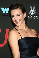WEST HOLLYWOOD, CA - SEPTEMBER 13: Katie Cassidy at the LA Premiere Screening Of I Love Us at Harmony Gold in West Hollywood, California on September 13, 2021. <br /> CAP/MPIFS<br /> ©MPIFS/Capital Pictures