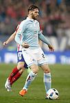 Celta de Vigo's Sergi Gomez during Spanish Kings Cup match. January 27,2016. (ALTERPHOTOS/Acero)