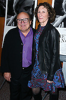 LOS ANGELES, CA, USA - OCTOBER 27: Danny DeVito, Rhea Perlman arrive at the Los Angeles Premiere Of Amplify's 'The Better Angels' held at the Directors Guild Of America on October 27, 2014 in Los Angeles, California, United States. (Photo by Xavier Collin/Celebrity Monitor)