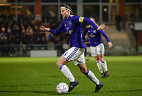 20180126 - OOSTAKKER , BELGIUM : Anderlecht's Laura De Neve pictured during the quarter final of Belgian cup 2018 , a womensoccer game between KAA Gent Ladies and RSC Anderlecht , at the PGB stadion in Oostakker , friday 27 th January 2018 . PHOTO SPORTPIX.BE   DAVID CATRY