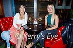 Enjoying the evening in Molly J's on Friday, l to r: Kayleigh Power (Marion Park) and Rachel Rohan (Kilflynn).