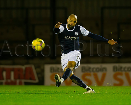 21st November 2020; Somerset Park, Ayr, South Ayrshire, Scotland; Scottish Championship Football, Ayr United versus Dundee FC; Liam Fontaine of Dundee