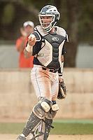 SAN ANTONIO, TX - APRIL 29, 2016: The Louisiana Tech University Bulldogs face the University of Texas at San Antonio Roadrunners at Roadrunner Field. (Photo by Jeff Huehn)