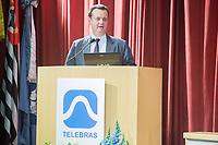 SÃO PAULO, SP, 27.07.2017 - GILBERTO-KASSAB - O ministro da Ciência, Tecnologia, Inovações e Comunicações, Gilberto Kassab participa de roadshow organizado pela Telebrás, para apresentação investidores das oportunidades de negócios relacionadas à cessão de capacidade em banda Ka do Satélite Geoestacionário de Defesa e Comunicações Estratégicas (SGDC), no Instituto de Engenharia, na zona sul de São Paulo, na tarde desta quinta-feira, 27 (Foto: Patrícia Devoraes/ Brazil Photo Press)
