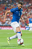 Italy's Antonio Candreva during match between Spain and Italy to clasification to World Cup 2018 at Santiago Bernabeu Stadium in Madrid, Spain September 02, 2017. (ALTERPHOTOS/Borja B.Hojas)