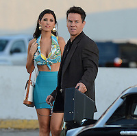 SMG_FLXX_Mark Wahlberg_Yolanthe Sneijder-Cabau_Lot_040512_03.JPG<br /> <br /> MIAMI , FL - APRIL 05:  Actors Mark Wahlberg and Actress Yolanthe Sneijder-Cabau on the set of Pain and Gain which is directed by Michael Bay. Pain and Gain is about a  pair of bodybuilders in Florida get caught up in an extortion ring and a kidnapping scheme that goes terribly wrong. on April 5, 2012 in Miami Beach, Florida. (Photo By Storms Media Group)     <br /> <br /> People:  Mark Wahlberg_Yolanthe Sneijder-Cabau<br /> <br /> Transmission Ref:  FLXX<br /> <br /> Must call if interested<br /> Michael Storms<br /> Storms Media Group Inc.<br /> 305-632-3400 - Cell<br /> 305-513-5783 - Fax<br /> MikeStorm@aol.com