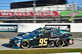 #95: Christopher Bell, Leavine Family Racing, Toyota Camry Germania Insurance, #13: Ty Dillon, Germain Racing, Chevrolet Camaro GEICOween