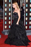 Lilly James<br /> arriving for the BAFTA Film Awards 2018 at the Royal Albert Hall, London<br /> <br /> <br /> ©Ash Knotek  D3381  18/02/2018