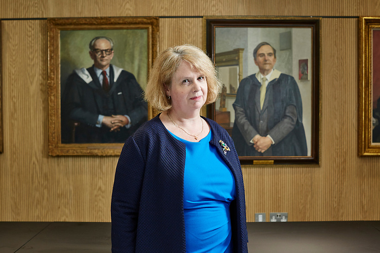 Photo John Angerson.   200826<br /> St Paul's School, London, UK, announce it has appointed Sally-Anne Huang to be the next High Master of the school from September 2020. Sally-Anne will be the first female Head in the school's 510-year history. She will replace Professor Mark Bailey © John Angerson 2020