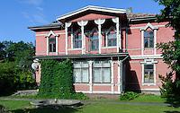Holzhaus in Liepaja, Lettland, Europa