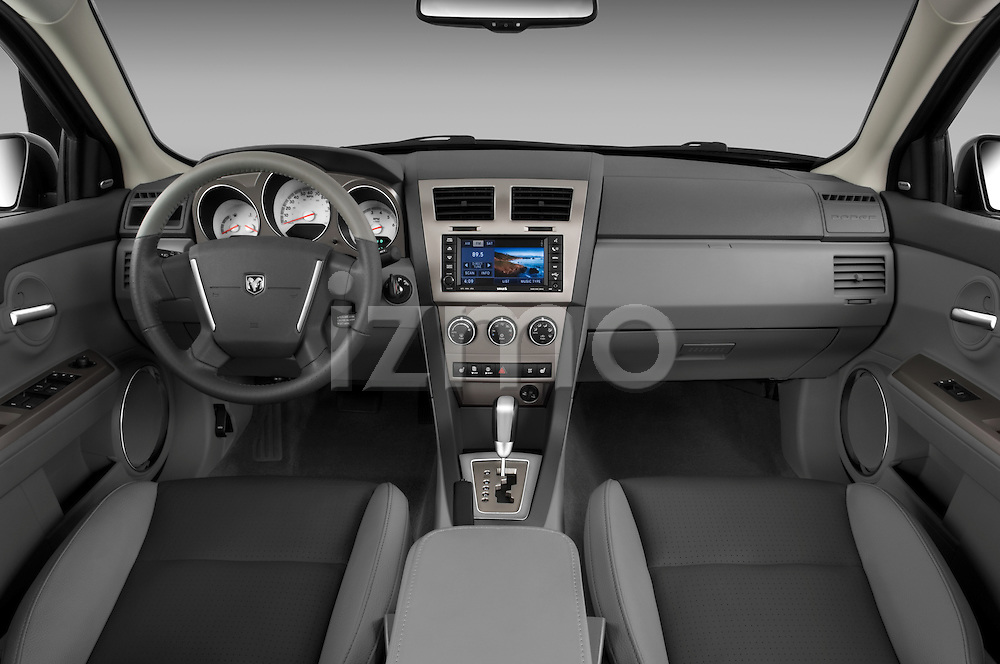 2008 Dodge Avenger RT Straight dashboard view Stock Photo