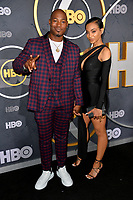 LOS ANGELES, USA. September 23, 2019: Kris D. Lofton & Shawna Barbeau at the HBO post-Emmy Party at the Pacific Design Centre.<br /> Picture: Paul Smith/Featureflash