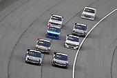 #4: Todd Gilliland, Kyle Busch Motorsports, Toyota Tundra Mobil 1 and #18: Harrison Burton, Kyle Busch Motorsports, Toyota Tundra Safelite AutoGlass