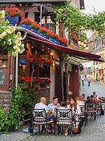 Gasthaus Winzerkeller, Rüdesheim, Hessen, Deutschland, Europa<br /> inn Winzerkeller, Rüdesheim, Hesse, Germany, Europe