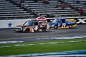 NASCAR Camping World Truck Series<br /> winstaronlinegaming.com 400<br /> Texas Motor Speedway, Ft. Worth, TX USA<br /> Friday 9 June 2017<br /> Christopher Bell, JBL Toyota Tundra, Chase Briscoe, Cooper Standard Ford F150<br /> World Copyright: John K Harrelson<br /> LAT Images<br /> ref: Digital Image 17TEX2jh_02274