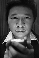 Montreal (Qc) CANADA, July 14, 2007 -<br /> <br /> 3 Beloved  (13 Game Sayong) North american Premiere<br />  Hosted by Thai Director CHOOKIAT SAKWEERAKUL , July 14, 2007  at Fantasia Film Festival in Montreal.<br /> <br /> Director Chookiat Sakweerakul, who at 25 is Thailand's youngest professional filmmaker, based the film on Ekasit Thairat's cult comic book The 13th Quiz Show , and brought the creator on board to co-write the script. He then managed to get Ong Bak director Prachya Pinkaew to come on as co-producer, allowing what should have been a subversive, no-budget underground film to be made on the scale of an epic -- without compromising a drop of its venom.<br /> <br /> photo : Pierre Roussel (c)  Images Distribution