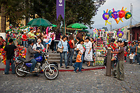 Antigua, Guatemala.  Semana Santa Celebrations.