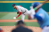 Boston Red Sox starting pitcher David Price (17) delivers a pitch during a game against the Buffalo Bisons during a rehab assignment on May 19, 2017 at Coca-Cola Field in Buffalo, New York.  Buffalo defeated Pawtucket 7-5 in thirteen innings.  (Mike Janes/Four Seam Images)