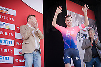 Simon Clarke (AUS/EF Education First) finishes 2nd<br /> <br /> 54th Amstel Gold Race 2019 (1.UWT)<br /> One day race from Maastricht to Berg en Terblijt (NED/266km)<br /> <br /> ©kramon