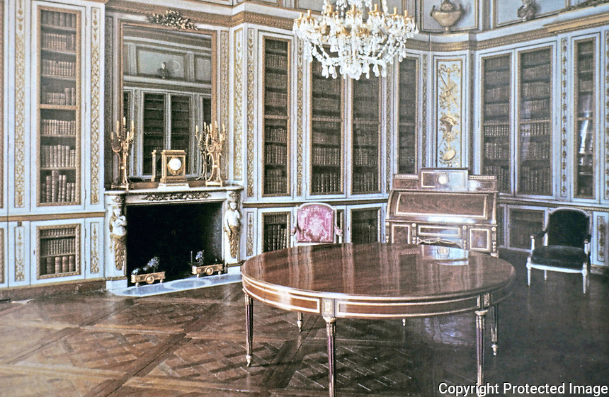 Palace of Versailles, Louis XVI Library.