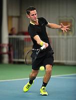 Januari 24, 2015, Rotterdam, ABNAMRO, Supermatch, Jesse Timmermans<br /> Photo: Tennisimages/Henk Koster