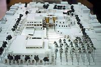 Charles Moore: Oceanside Model--Civic Center. January 1989. (Photo '89)