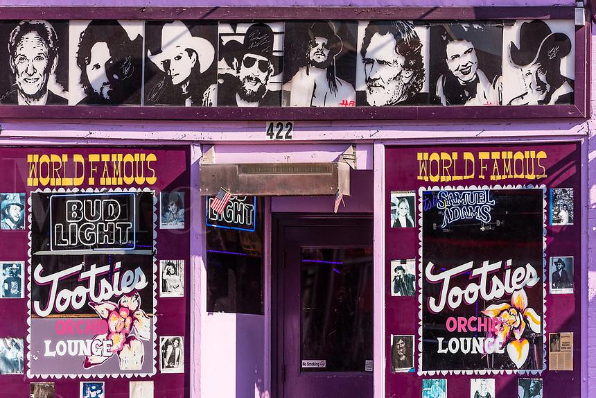 Tootsies Orchid Lounge, Nashville, Tennessee, USA.