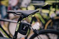 Velon data transmitter box on the Mitchelton-Scott bike<br /> <br /> stage 15: Tolmezzo – Sappada (176 km)<br /> 101th Giro d'Italia 2018