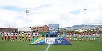 CHIA - COLOMBIA, 12 -08-2021: Fortaleza CEIF e Independiente Santa Fe en partido por la fecha 7 como parte de la Liga Femenina BetPlay DIMAYOR 2021 jugado en el estadio Municipal de la ciudad de Chía. / Fortaleza CEIF and Independiente Santa Fe in match for the date 7 as part of Women's BetPlay DIMAYOR 2021 League played at Municipal stadium of Chia city. Photo: VizzorImage / Daniel Garzon / Cont
