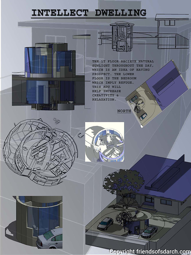 Student entry in FSDA's ADU Competition 2004. Annie N. Nguyen. Board 2.