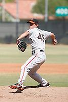 Kyle Vazquez - San Francisco Giants 2009 Instructional League .Photo by:  Bill Mitchell/Four Seam Images..