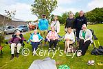 Enjoying the Music Session in the Fair Field in Cahersiveen on Sunday were front l-r; Ned Treacy, Mary O'Shea, Lena Treacy, Claire Treacy, Niamh Treacy, back l-r; Padraig O'Shea, Marianna O'Shea, Damien McLoughlin & Conor Treacy.